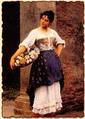 Венецианская торговка цветами
