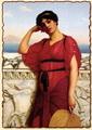 Женщина в классическом платье